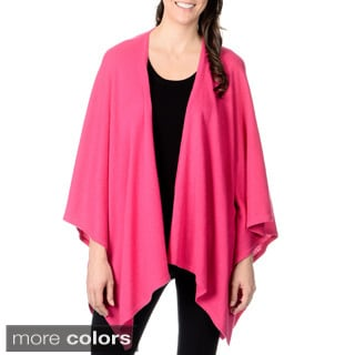 Ply Cashmere Women's Open Front Wrap (One size)