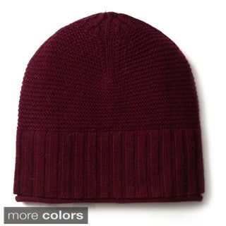 Ply Cashmere Ribbed Hat