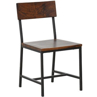 Wabby Dark Walnut Side Chair