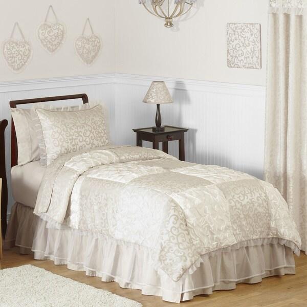 Sweet Jojo Designs Victoria 3-piece Girls Full/Queen Comforter Set