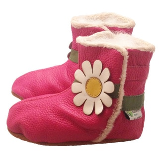 Daisy Soft Sole Leather Baby Boots