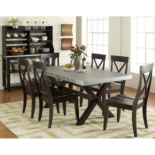 Liberty Keaton II Charcoal 9-piece Dinette Set