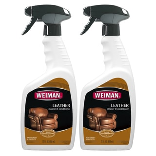 Weiman 20-ounce Leather Cleaner and Conditioner (Pack of 2)