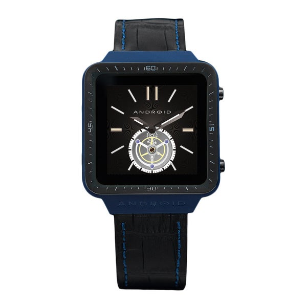 Android Men's Blue Smart Watch