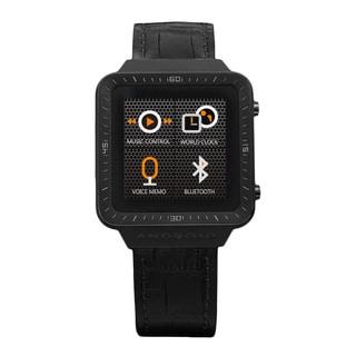 Android Men's Black Smart Watch