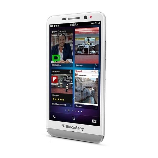 Blackberry Z30 STA100-5 16GB Unlocked GSM 4G LTE OS 10.2 Cell Phone - White