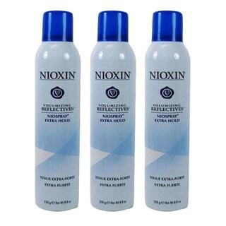 Nioxin Volumizing Reflectives Niospray Extra Hold 8.8 oz (Pack of 3)