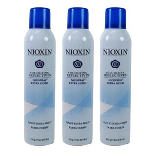 Nioxin Volumizing Reflectives Niospray Extra Hold 8.8 oz (Pack of 3)