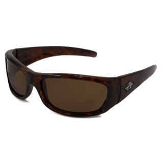 Anarchy Men's Blacken Polarized/ Wrap Sunglasses