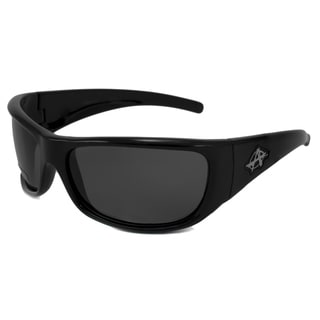 Anarchy Men's Rally Polarized/ Wrap Sunglasses