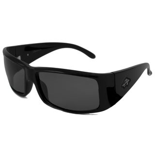 Anarchy Men's Regent Polarized/ Wrap Sunglasses