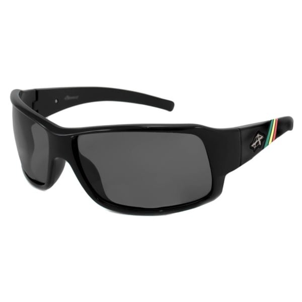 Anarchy Men's Transfer Polarized Wrap Sunglasses