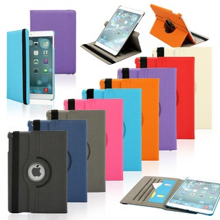 Gearonic Microfiber and PC Rotating Case Smart Cover for Apple iPad Air