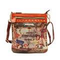 Nicole Lee American Cowgirl Print Messenger Bag