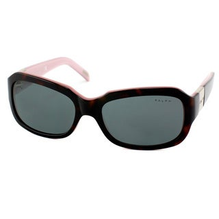 Ralph By Ralph Lauren Women's 'RA 5049 599/87' Dark Havana Plastic Sunglasses