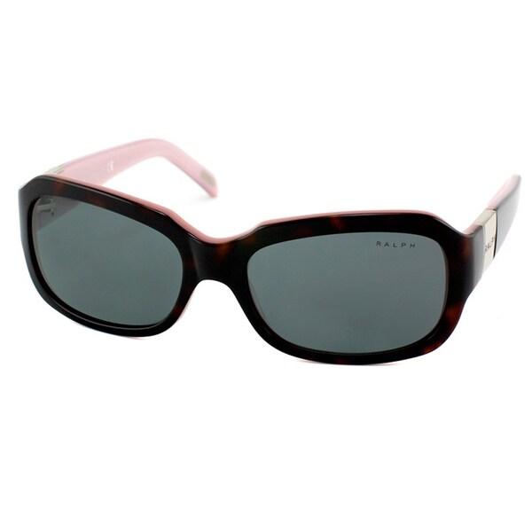 Ralph By Ralph Lauren Women's 'RA 5049 599/87' Dark Havana Plastic Sunglasses