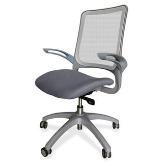 Lorell Self-adjusting Weight-activated Grey Task Chair