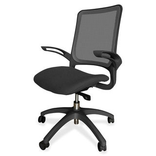 Lorell Self-adjusting Weight-activated Black Task Chair