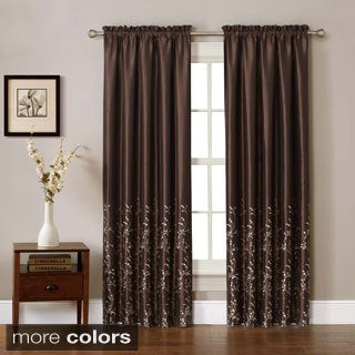 Felice Embroidered Curtain Panel