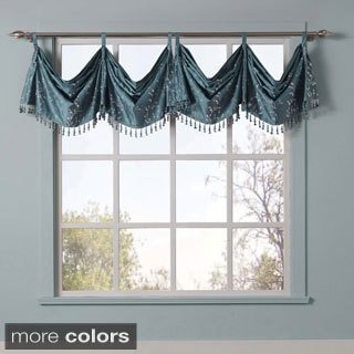 Felice Embroidered Window Valance