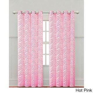 Zebra Print 84-inch Curtain Panel