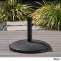 Christopher Knight Home Black Umbrella Base