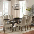 Ivy Park 7-piece Weathered Honey Dinette Set