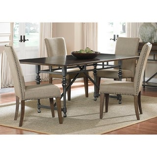 Ivy Park 5-piece Weathered Honey Dinette Set