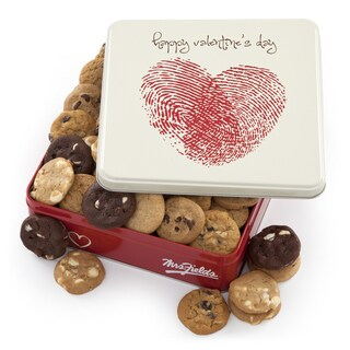 Mrs. Fields Assorted Nibblers Cookie Valentine Tin