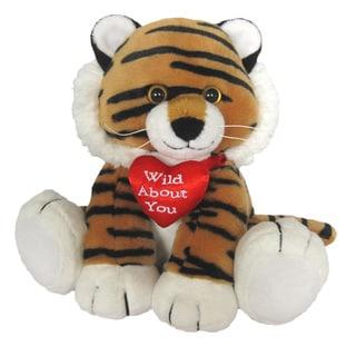 First & Main Valentine's Plush Stuffed Tiger