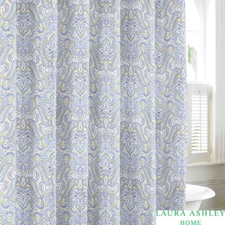 Laura Ashley Maiden Lane Cotton Shower Curtain