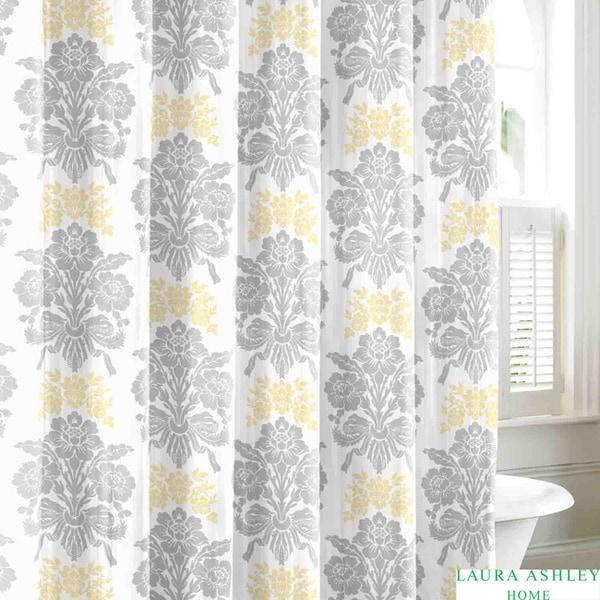 Laura Ashley Tatton Cotton Shower Curtain