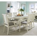 Seabrooke Creamy White/ Seashell Upholstered Dining Chair (Set of 2)