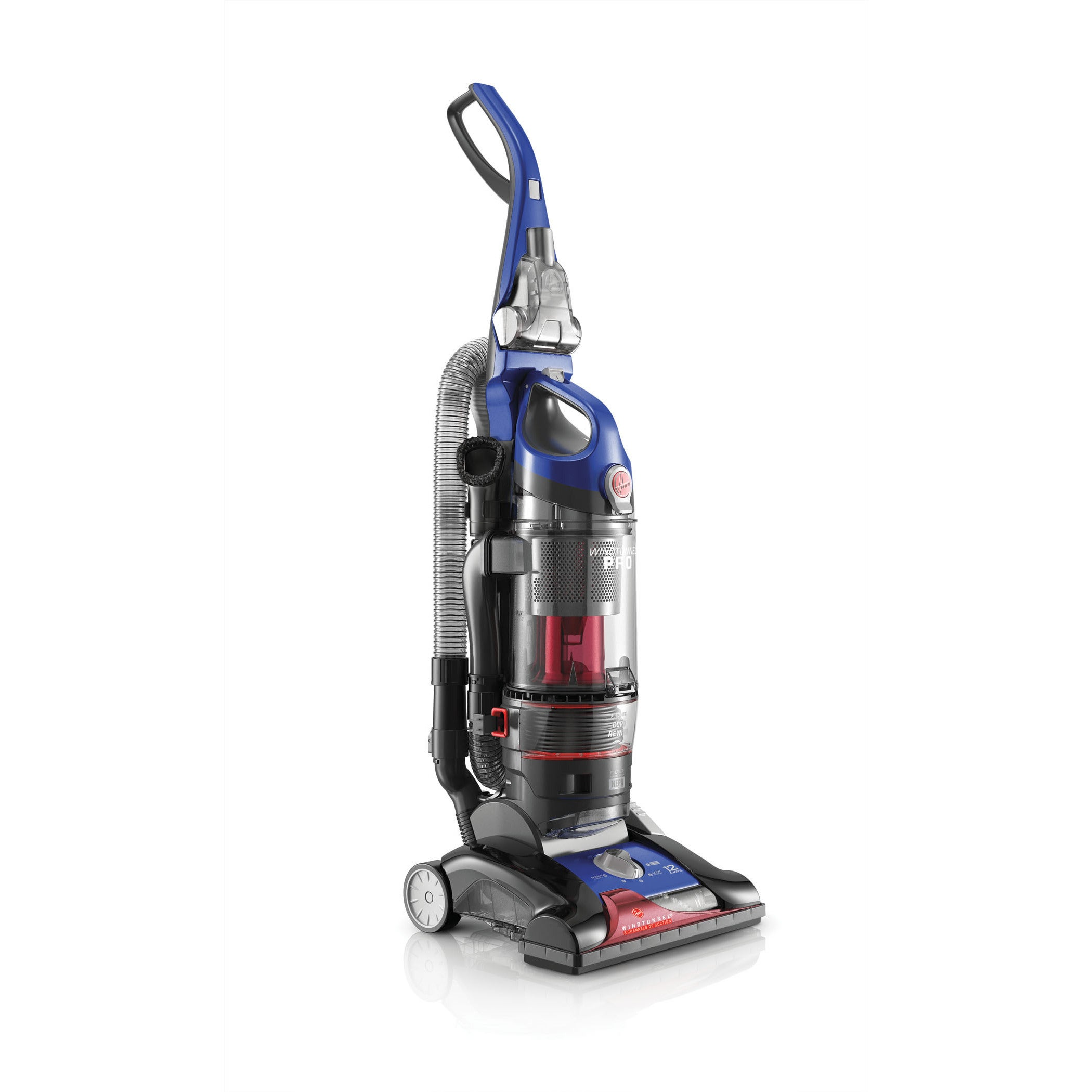 Hoover UH70905 WindTunnel 3 Bagless Upright Cobalt Blue Vacuum at Sears.com