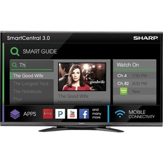 "Sharp AQUOS LC-80UQ17U 80"" 3D 1080p LED-LCD TV - 16:9 - HDTV 1080p -"