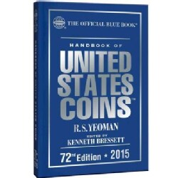 The Official Blue Book Handbook of United States Coins 2015 (Hardcover)