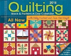 Quilting Block & Pattern-a-Day 2015 Calendar (Calendar)