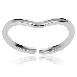Tressa Collection Sterling Silver Adjustable Toe Ring