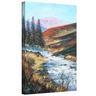 Art Wall Gene Foust 'Rolling Rapids' Gallery-wrapped Canvas Art