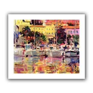 Art Wall Peter Graham 'Golden Harbour Vista' Gallery-wrapped Canvas Art