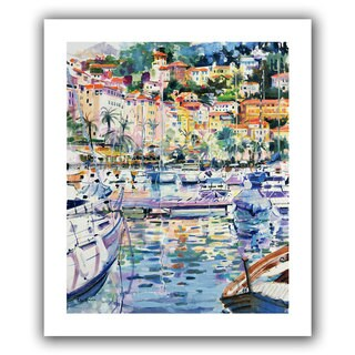 Art Wall Peter Graham 'Riviera Yachts' Gallery-wrapped Canvas Art