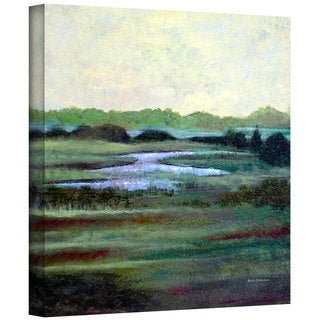 Art Wall Herb Dickinson 'Dissappearing' Gallery-wrapped Canvas Art