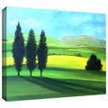 Art Wall Herb Dickinson 'Piedmont II' Gallery-wrapped Canvas Art