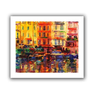 Art Wall Peter Graham 'Grand Harbour, Cannes' Gallery-wrapped Canvas Art