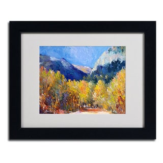 Richard Wallich 'Cotton' Framed Matted Art