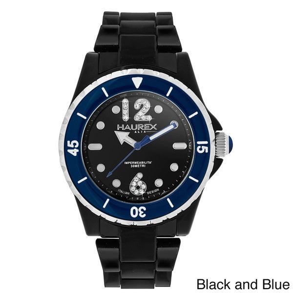 Haurex Italy Women's Beauty Black Polycarbonate Watch