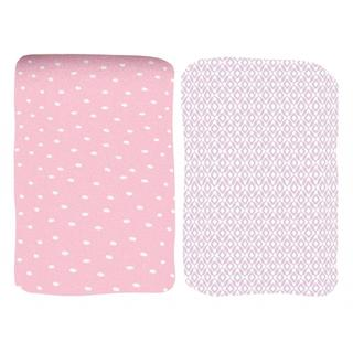 Summer Infant Printed Crib Sheet in Pretty Pals (2 Pack)