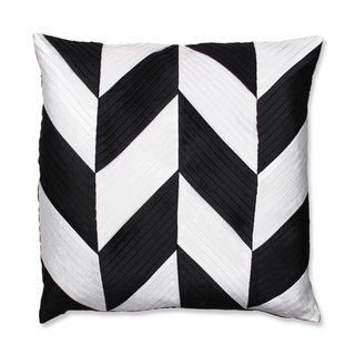 Contemporary Chevron 18-inch Throw Pillow