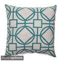 Suri Turquoise Throw Pillow