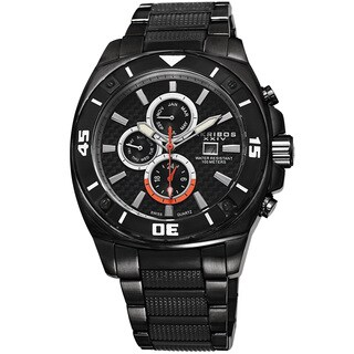 Akribos XXIV Men's Quartz Multifunction Stainless Steel Bracelet Watch
